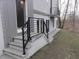 Front Porch Banisters Front Porch Railings Contemporary Exterior Philadelphia By