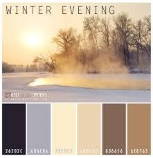 winter color palettes for design inspiration colour palette ii