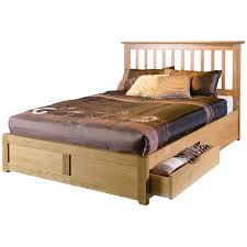 Baseball Bed Frame Wooden Bed Frame Bare Look