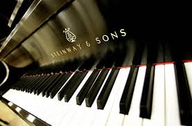 were not building pianos here gentlemen how do you a piano we go the at steinway to