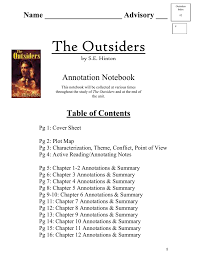 the outsiders by s