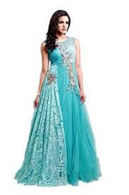 dress designer buy amazia style anarkali dress designer blue at best