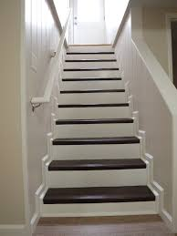 Houses With Finished Basements Finish Basement Stairs Finishing Basement Stairs With Nustair