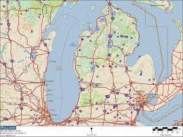 Rockford Michigan Map by Michigan Bigfoot Sightings Map Michigan Map