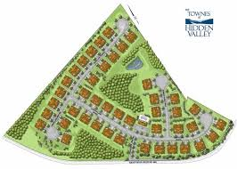 site plan the townes at hidden valley