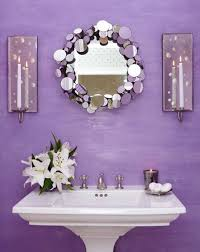 light purple wall decorating ideas for powder room decorating