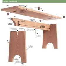 tapered seat bench plans outdoor furniture plans u0026 projects