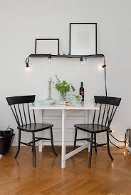Charming  Sqm Apartment In Sweden Offering The Best Of Two Eras - Apartment kitchen table