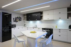 kitchens in small apartments cozy stools design wall mounted