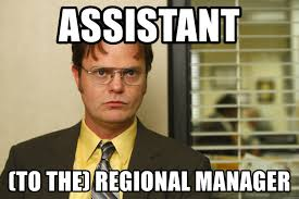 Meme Manager - assistant to the regional manager dwight schrute 112 meme