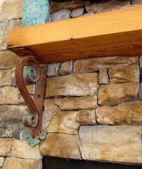 iron bracket thick large heavy duty sline ornamental iron