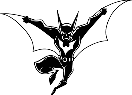 batman beyond cartoon characters wallpaper coloring page