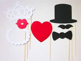 Wedding Photo Booth Props Wedding Photobooth Props 7 Pcs Photo Props Set Birthday Photo
