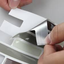 Kitchen Backsplash Stickers Fine Kitchen Backsplash Vinyl Decals Set Of Six 4 B On Design