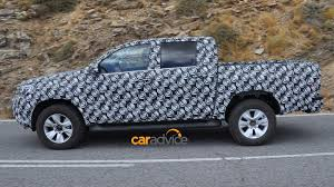 lexus v8 hilux 2015 toyota hilux first images of new generation ute testing in