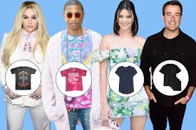 20 celebrities on their favorite t shirts 2017