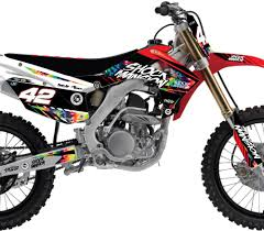 honda motocross gear shock mansion graphics archives rival ink design co custom