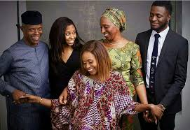 Beautiful Family Checkout This Beautiful Family Photo Of Vp Osinbajo Welcome To