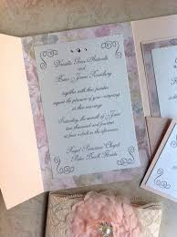 tri fold wedding invitations 30 tri fold pocket wedding invitations vizio wedding