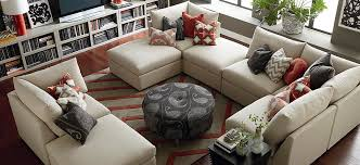 Movie Pit Sofa by See All Of Beckham U0027s Sectional Sofa Options Bassett Furniture