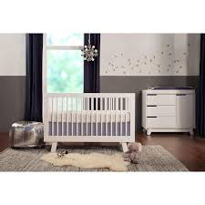 Bed Crib Babyletto Hudson 3 In 1 Convertible Crib W Toddler Bed Conversion