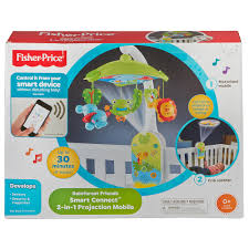ceiling light toys for babies fisher price smart connect 2 in 1 projection mobile mattel