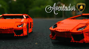lego rc lamborghini aventador sbrick custom leds twin xls youtube