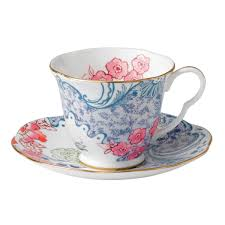teacup and saucer butterfly bloom teacup and saucer blue wedgwood