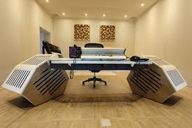 Recording Studio Desk Design by Argosy Aura 520 Lr Personal Workstation By Argosy Console Inc