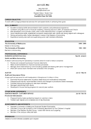 Good Examples Of Resumes by 28 Reliable Resume Good Resume Examples