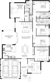 home design one story house plans with garage granny flat floor