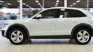2012 audi wagon 2012 audi q5 8r my12 3 0 tdi quattro white 7 speed auto dual