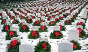 Va National Service Desk by Wreaths Across America