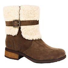 womens shearling boots size 11 ugg australia blayre ii shearling cuff bootie winter boots size 11
