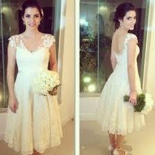 tea length casual white wedding dresses australia new featured