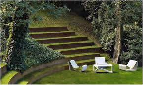 backyards chic backyard steps backyard steps hill building