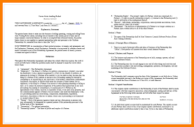 11 business agreement format park attendant