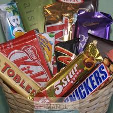 chocolate gift basket cadbury dozen chocolates gift basket 12 chocolates send gifts