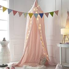 Mosquito Net Bed Canopy Mosquito Net Canopy Cotton Canvas Dome Princess Bed Canopy