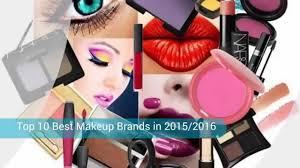 top 10 best makeup brands in 2015 2016 youtube