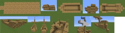 how to build a boat in minecraft minecraft guides