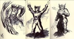 wolverine sketches by fenrysk art on deviantart
