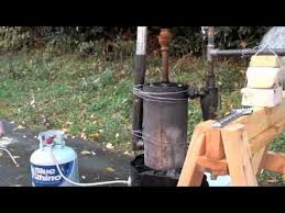 Make All From Wood Bio Char Bio Oil U0026 Syngas From Wood Pyrolysis Youtube