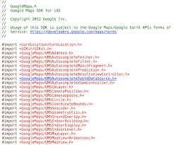 How To Correct Google Maps Ios How To Get Latest Googlemaps Sdk Using Pods Stack Overflow
