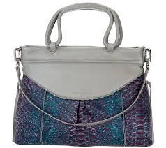 aimee kestenberg u2014 women u0027s leather handbags u2014 qvc com