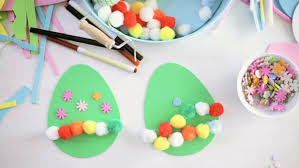 Decorating Easter Eggs Video by Easter Egg Isolated Over White Background Stock Footage Video