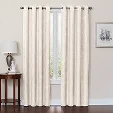 quinn grommet top 100 blackout window curtain panel bed bath