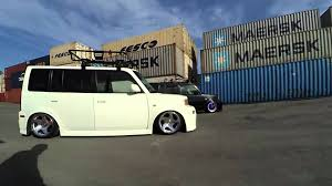 scion cube black and white box scion xb toyota bb thinksquare xb bb