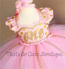 birthday dress pink and gold polka dot tutu dress birthday dress pink and