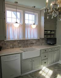 curtains ideas linen cafe curtains for kitchen